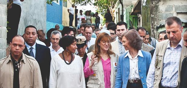 Visita de la Reina de España